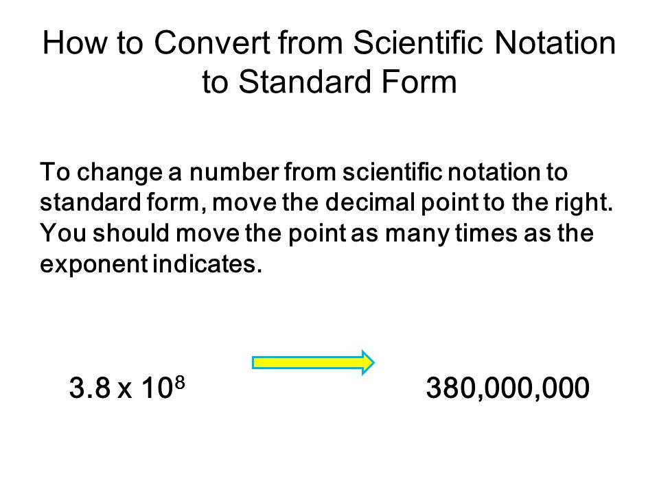Scientific Notation Karen Cibrian Ppt Download