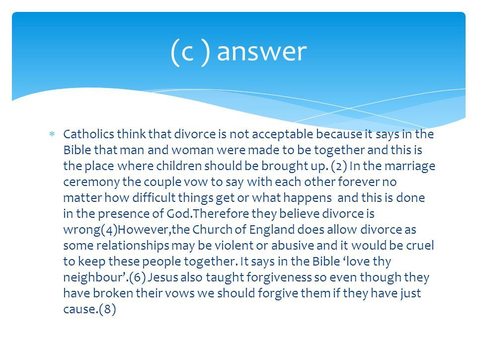 (c ) answer
