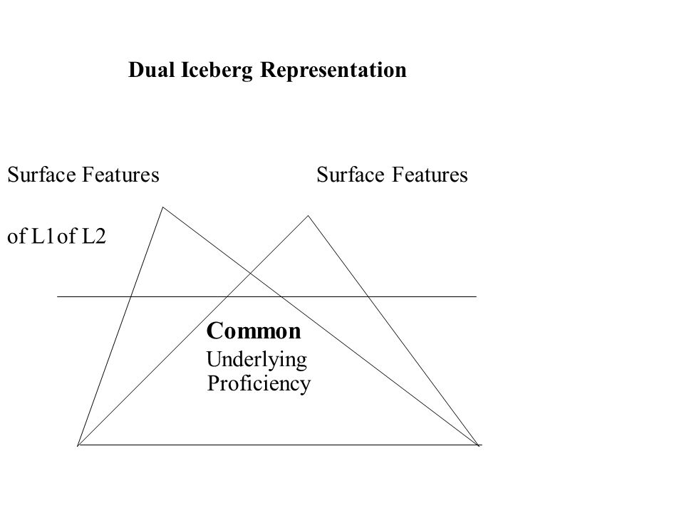 Dual Iceberg Representation