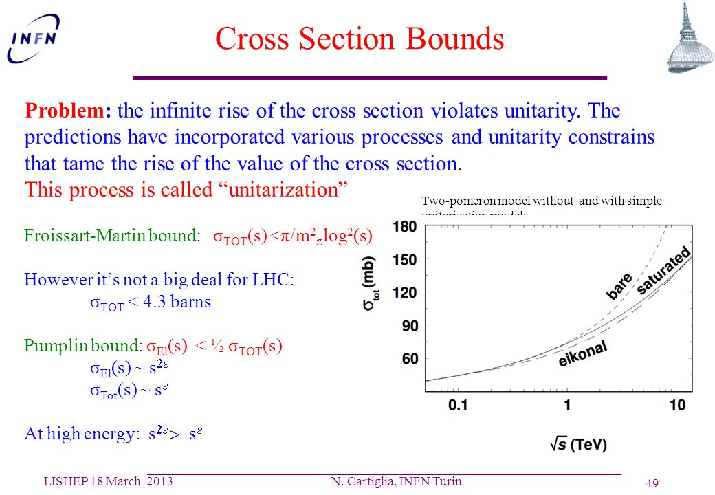 Cross Section Bounds