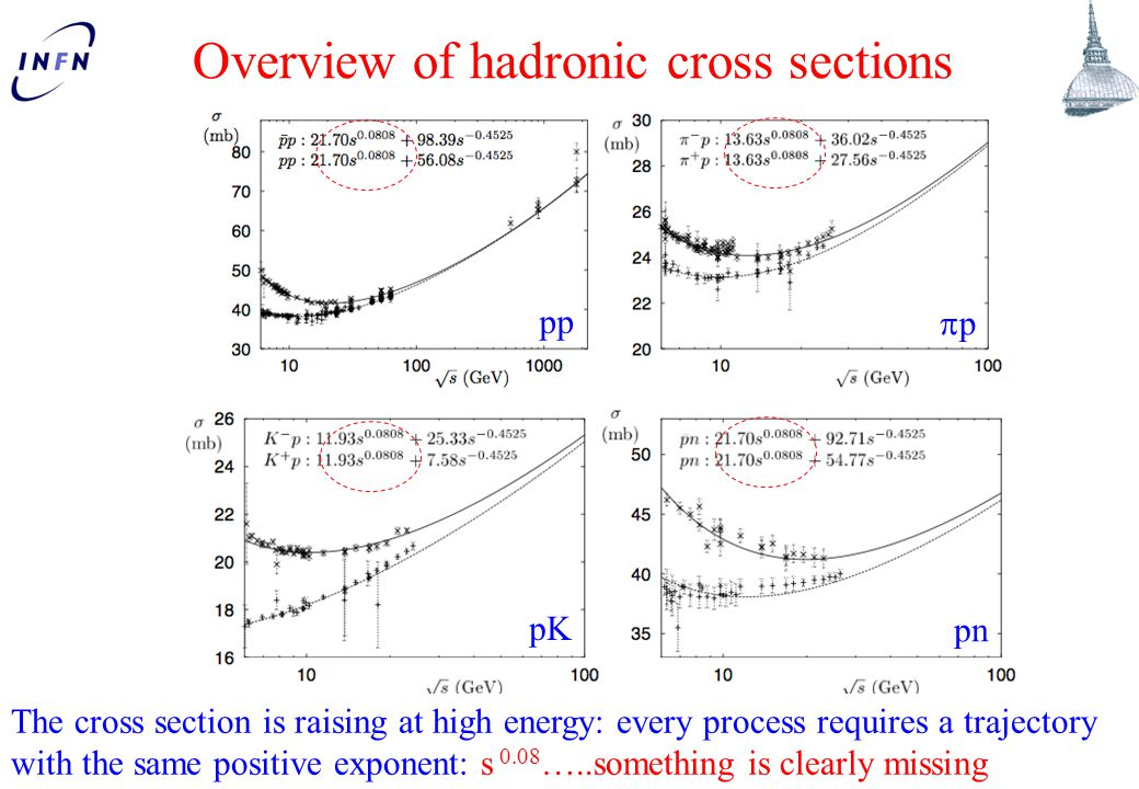 Overview of hadronic cross sections