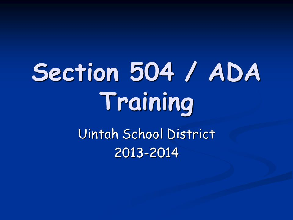 Uintah School District 2013-2014