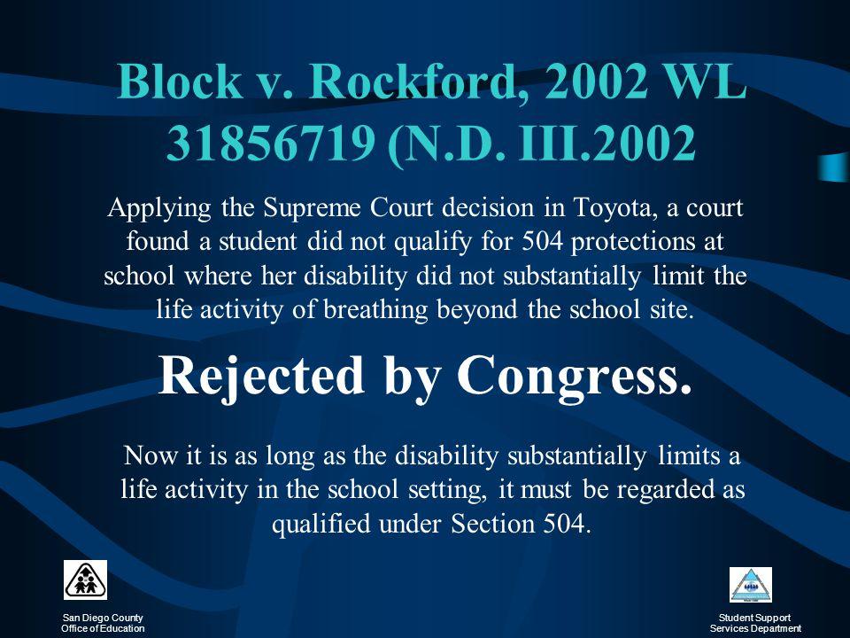 Block v. Rockford, 2002 WL 31856719 (N.D. III.2002
