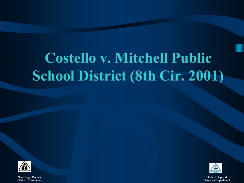 Costello v. Mitchell Public School District (8th Cir. 2001)