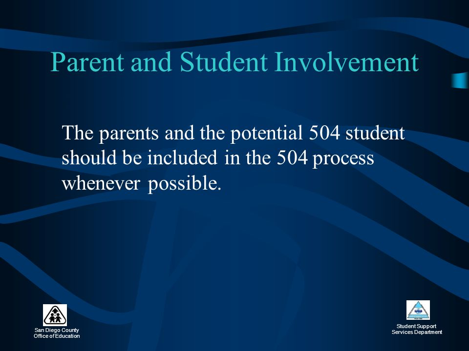 Parent and Student Involvement