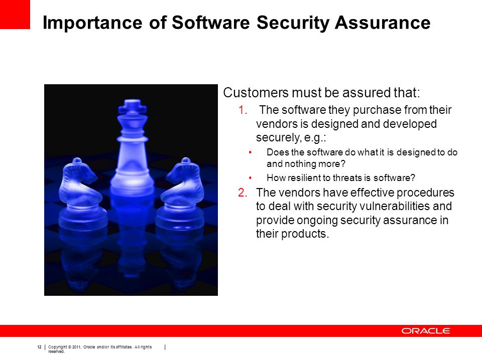 Importance of Software Security Assurance