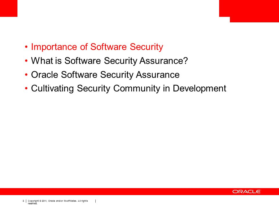 Importance of Software Security