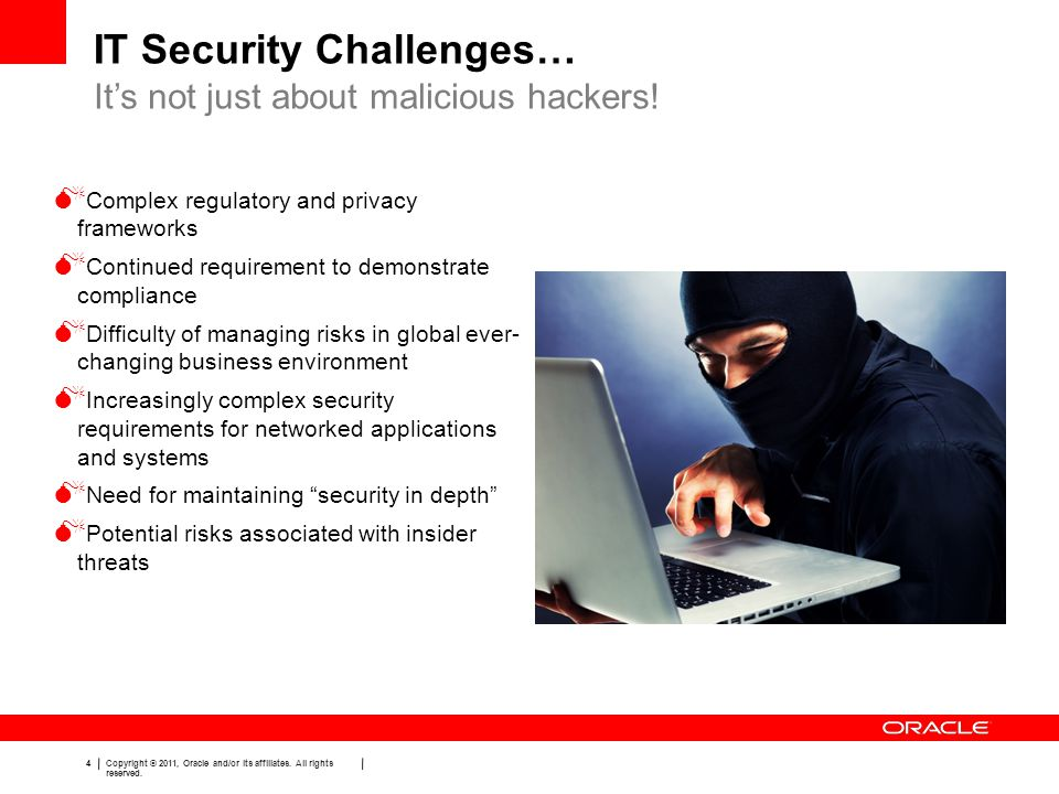 IT Security Challenges…