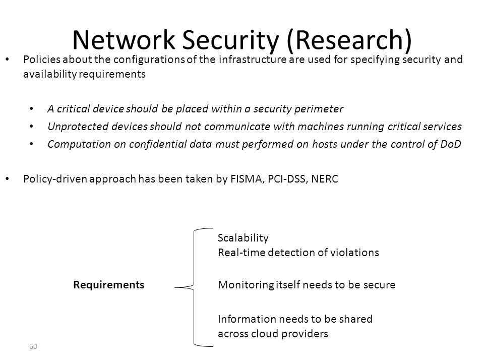 Network Security (Research)