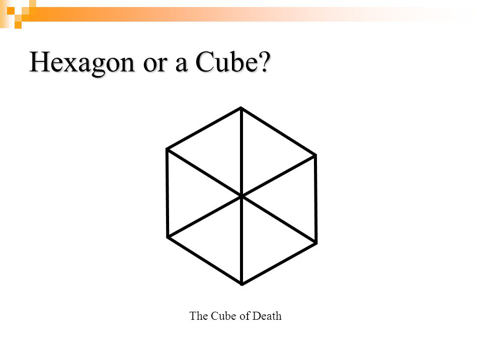 Hexagon or a Cube The Cube of Death