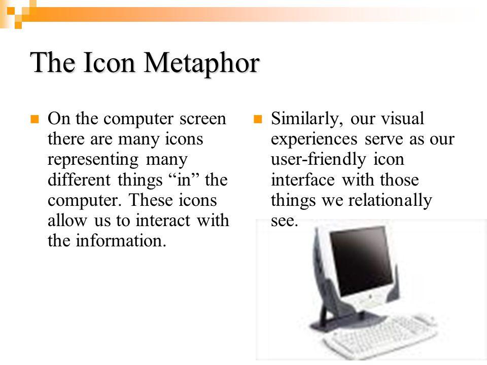 The Icon Metaphor