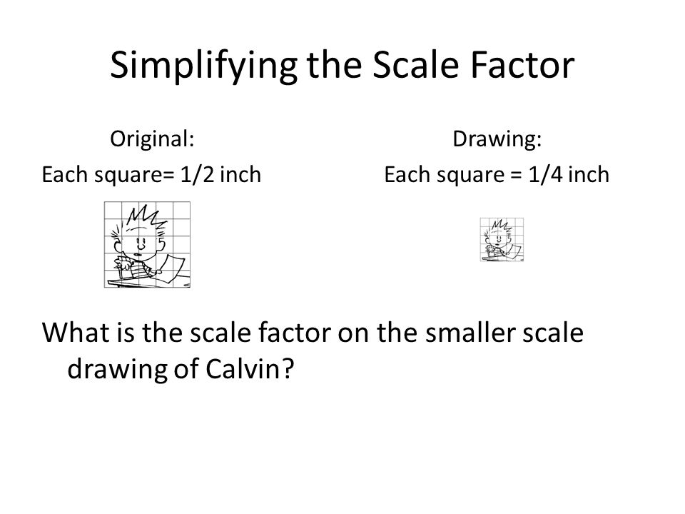 Simplifying the Scale Factor