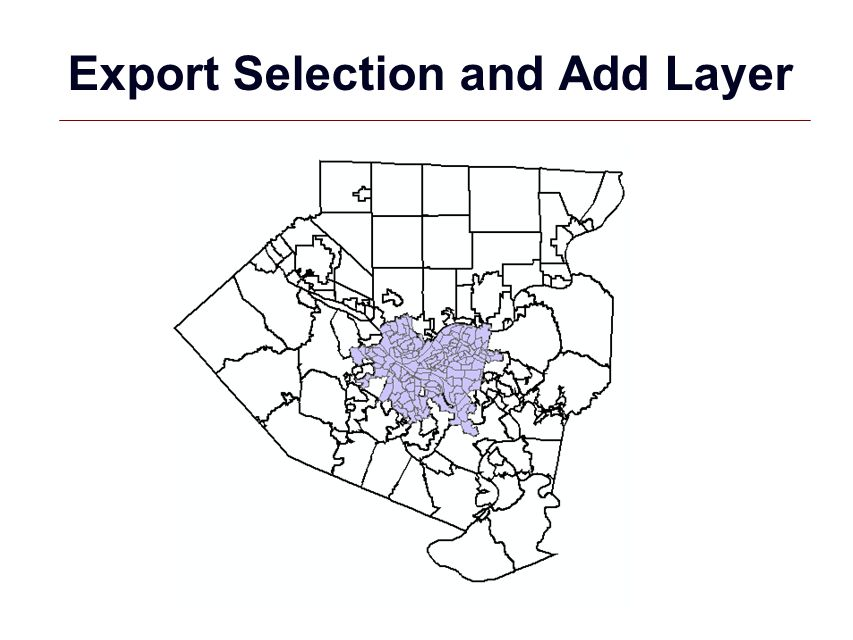 Export Selection and Add Layer