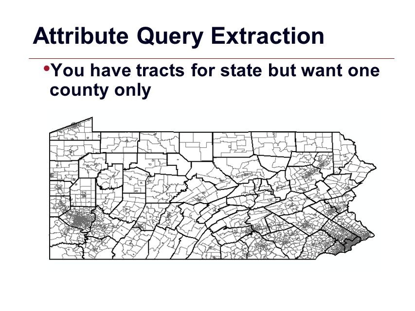 Attribute Query Extraction