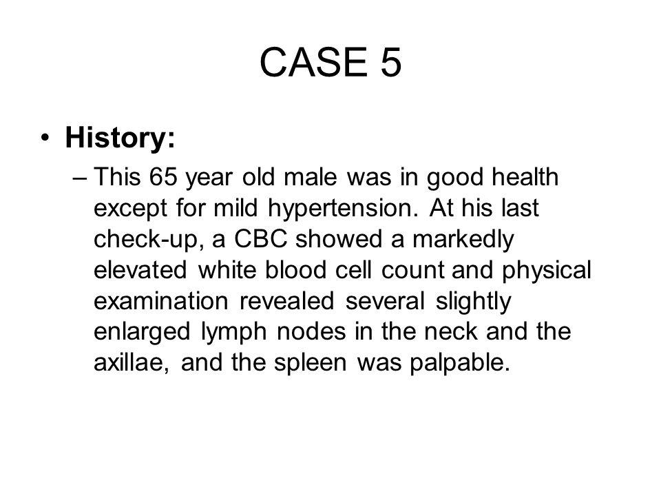 CASE 5 History: