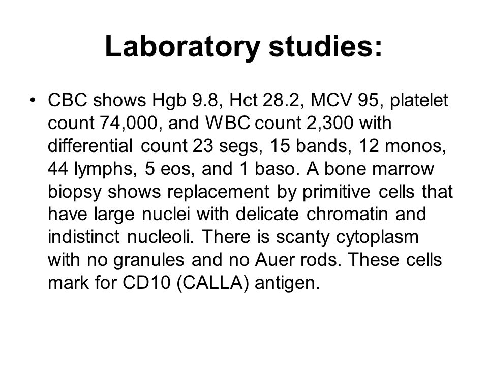 Laboratory studies:
