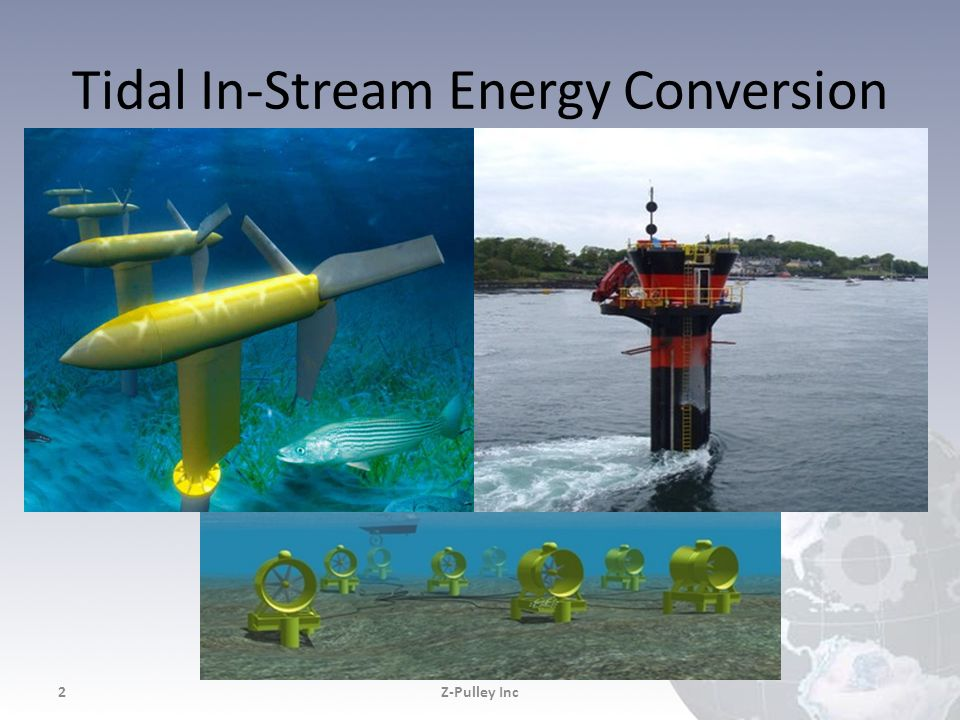 Tidal In-Stream Energy Conversion