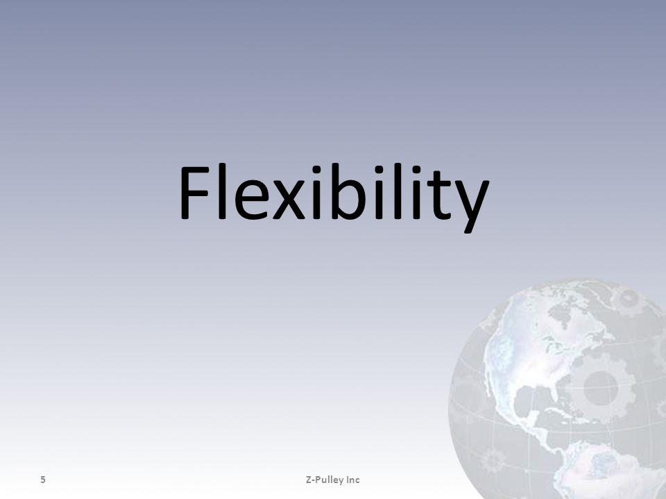 Flexibility Z-Pulley Inc Z-Pulley Inc