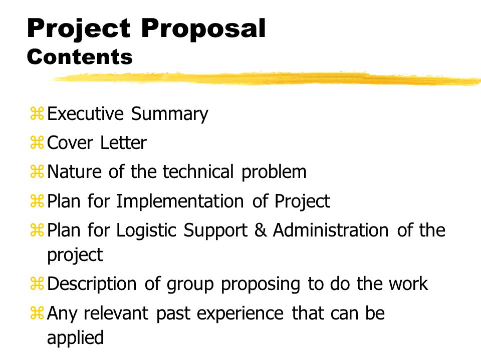 applied management project proposal Phd research proposal the introduction gives an overview of the research project you propose to carry out it explains the background of the project.