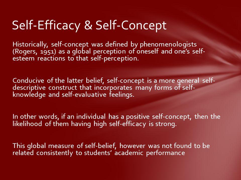 Self-Efficacy & Self-Concept