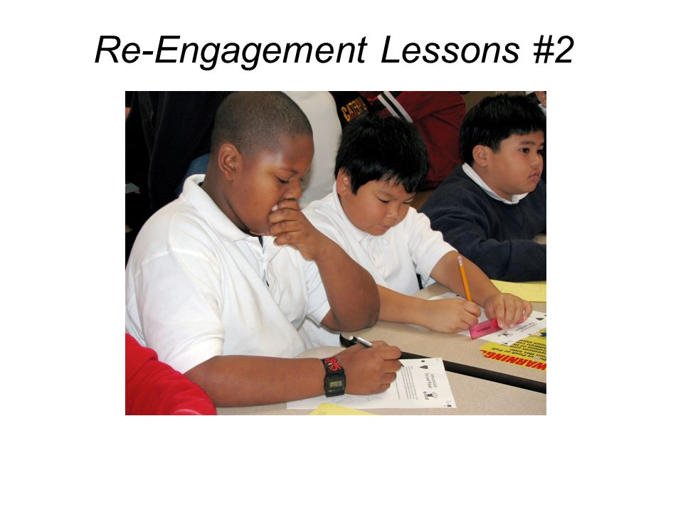 Re-Engagement Lessons #2