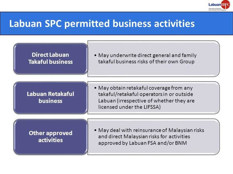 Labuan SPC permitted business activities
