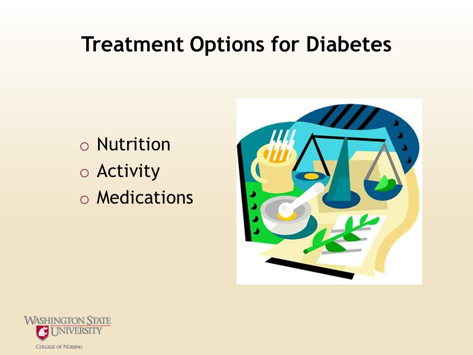 Treatment Options for Diabetes