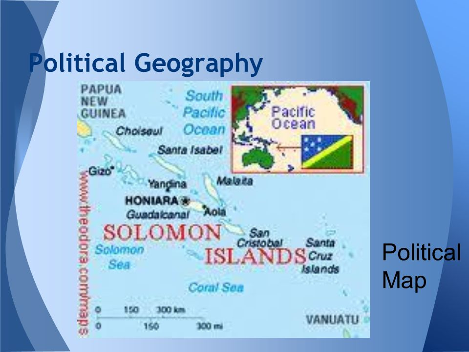 Political Geography Political Map