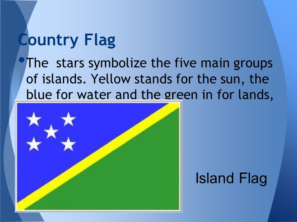 Country Flag Island Flag