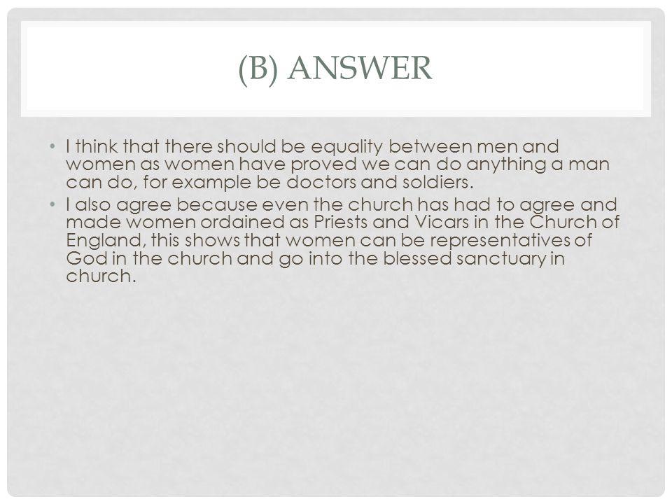 (b) answer