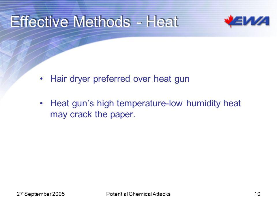 Effective Methods - Heat
