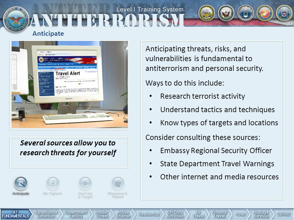 Several sources allow you to research threats for yourself