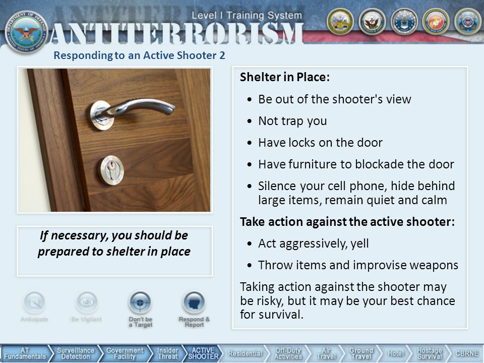 Responding to an Active Shooter 2