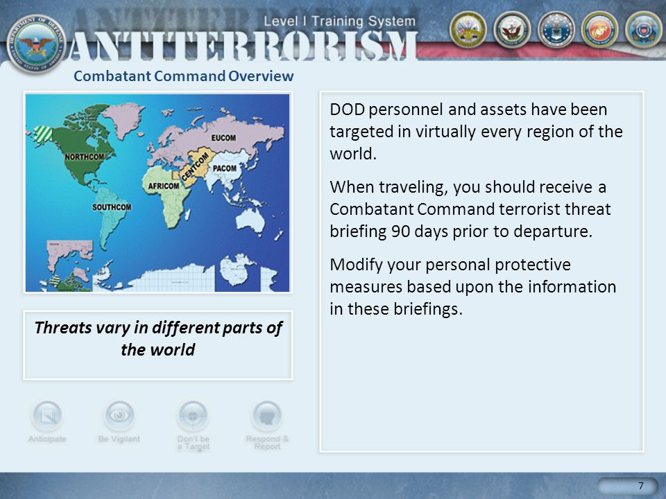 Combatant Command Overview