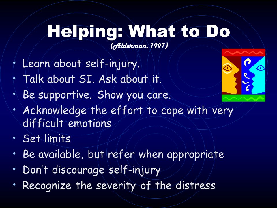 Helping: What to Do (Alderman, 1997)