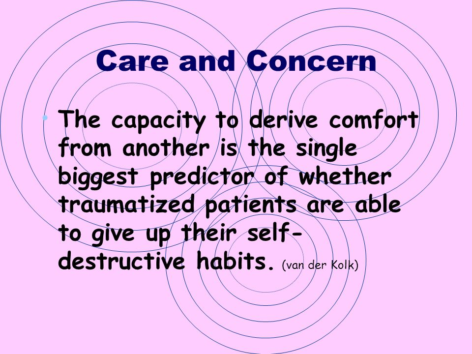 Care and Concern