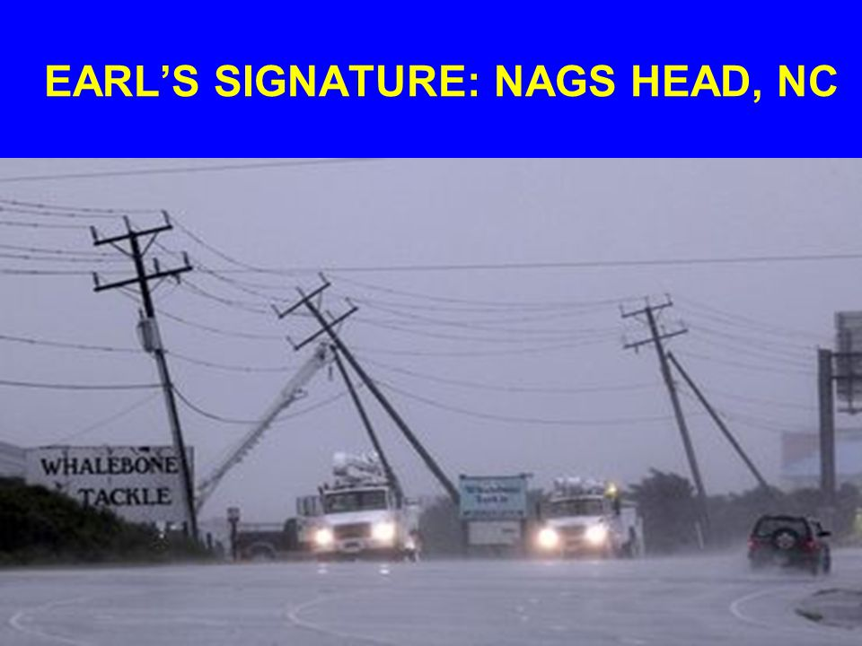 EARL'S SIGNATURE: NAGS HEAD, NC