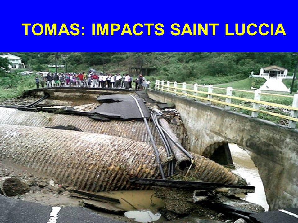 TOMAS: IMPACTS SAINT LUCCIA