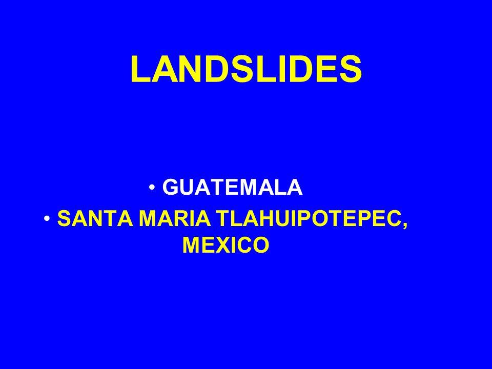 GUATEMALA SANTA MARIA TLAHUIPOTEPEC, MEXICO