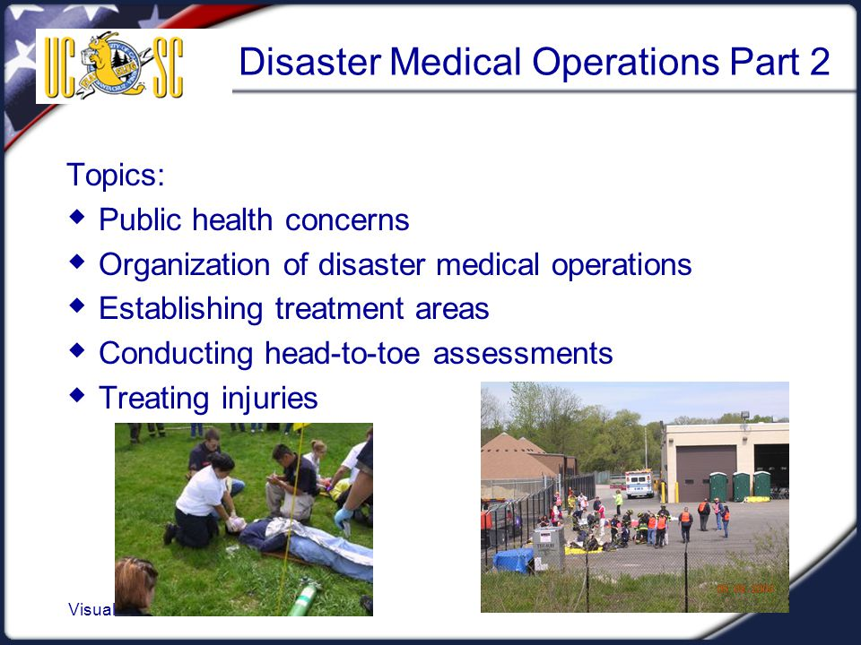 Disaster Medical Operations Part 2
