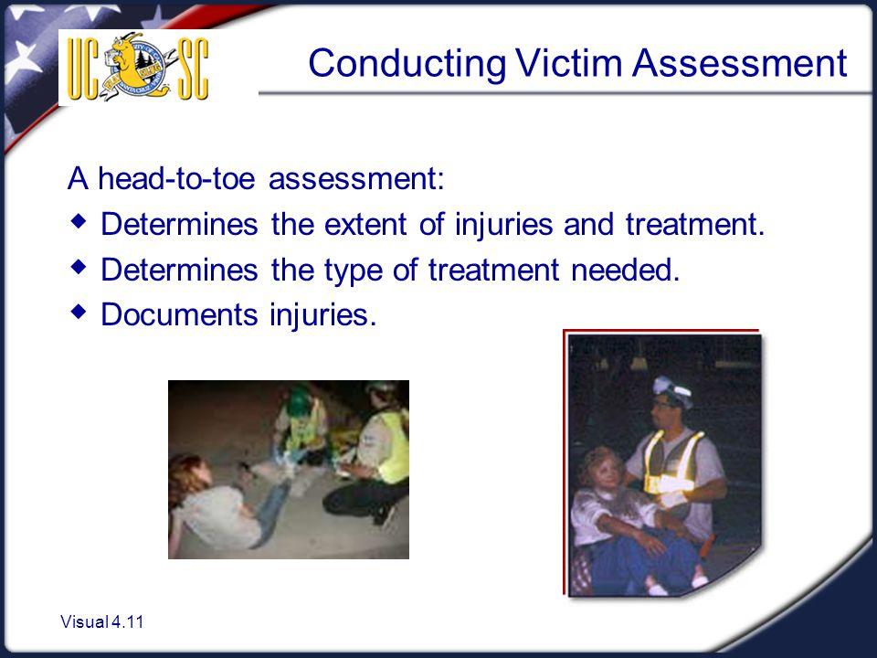 Conducting Victim Assessment