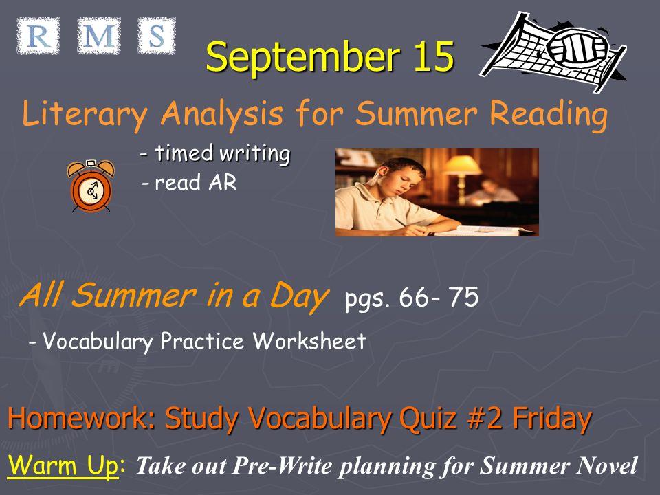 midsummer essay