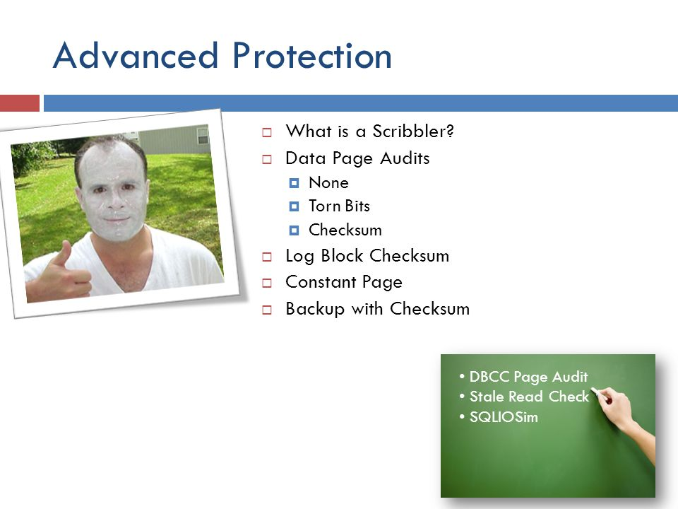 Advanced Protection What is a Scribbler Data Page Audits