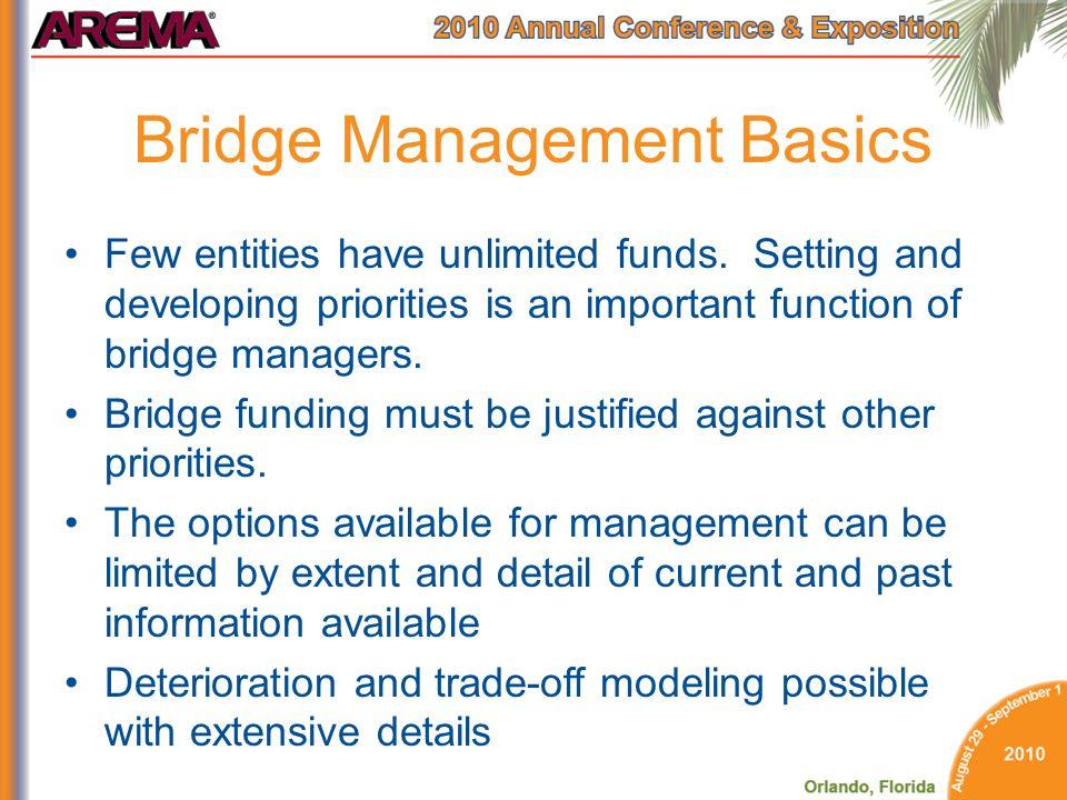 Bridge Management Basics