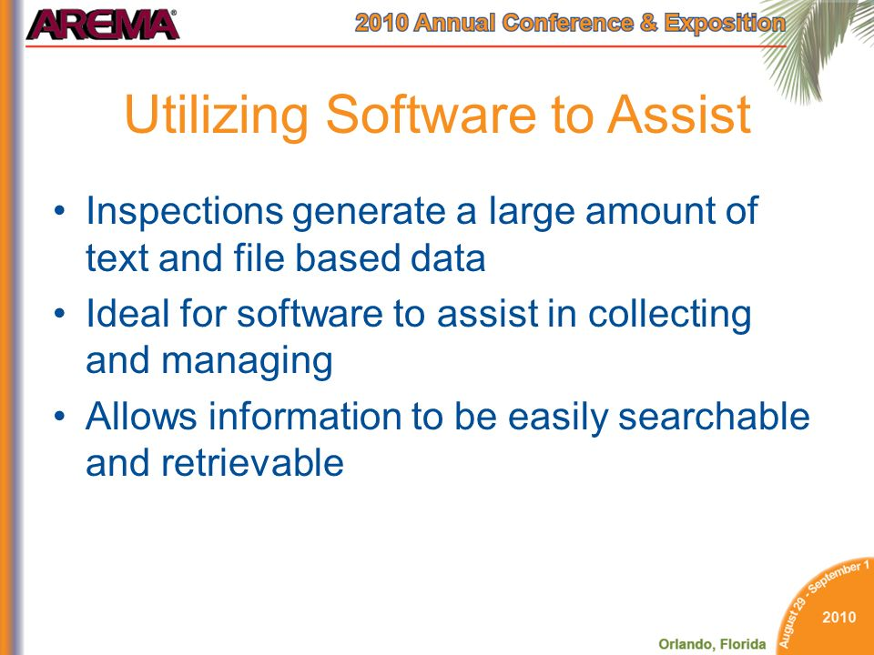 Utilizing Software to Assist
