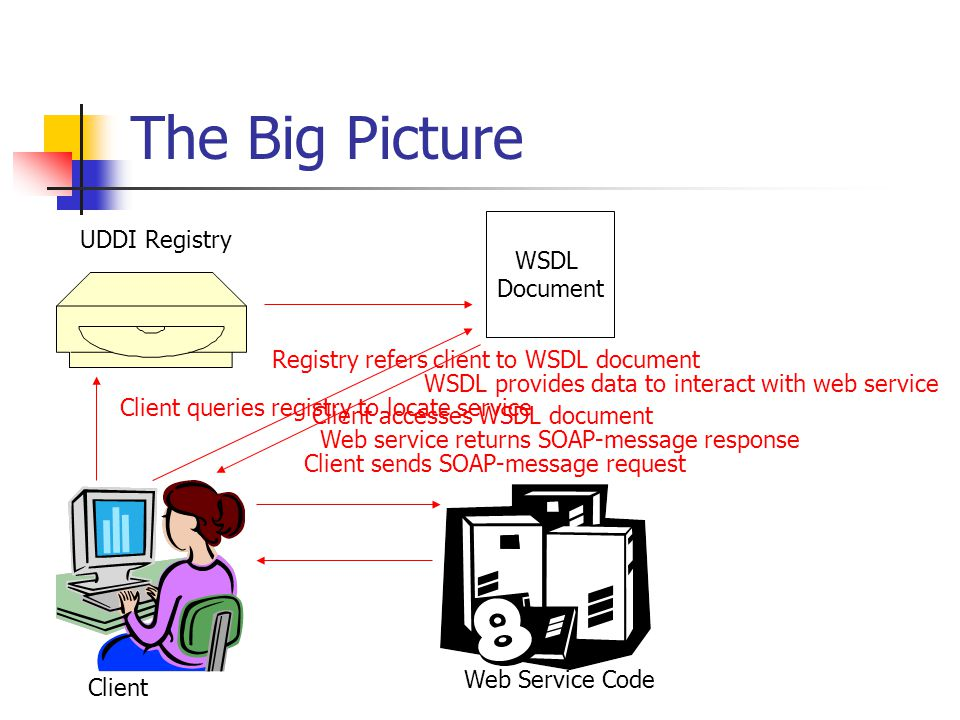 The Big Picture UDDI Registry WSDL Document