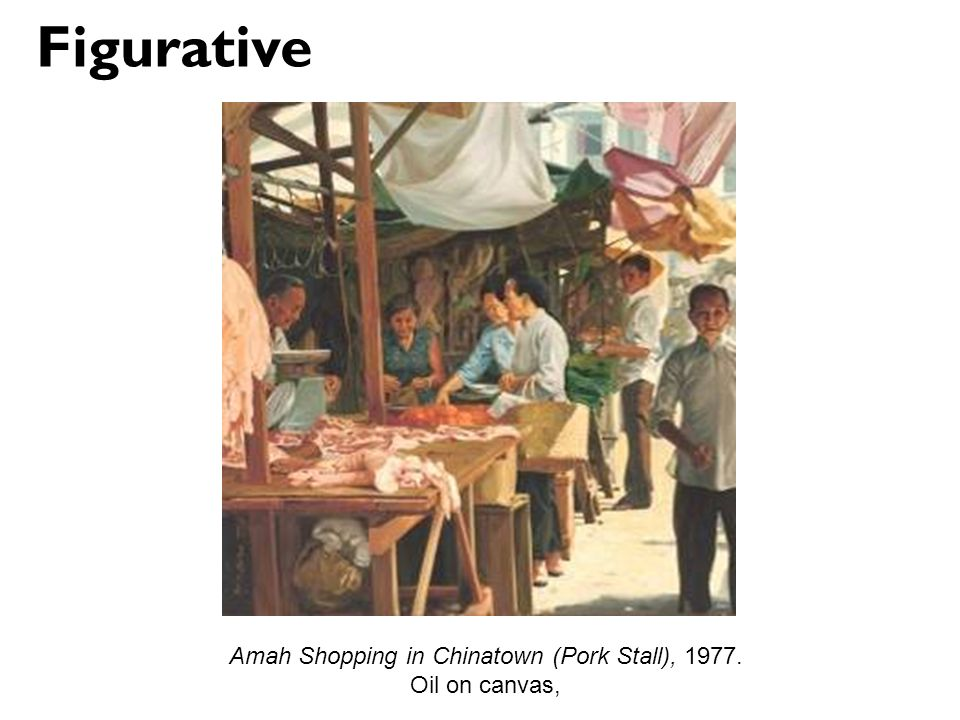 Amah Shopping in Chinatown (Pork Stall), 1977.