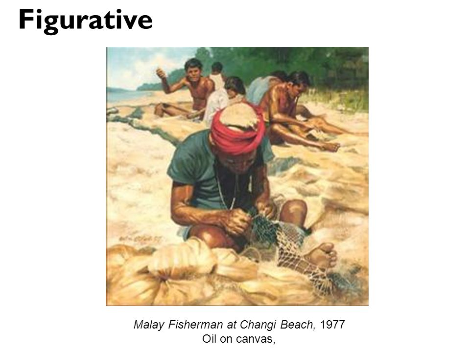 Malay Fisherman at Changi Beach, 1977