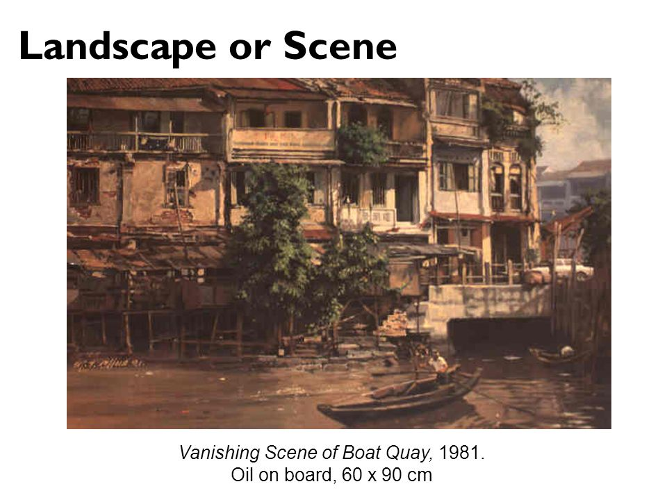 Vanishing Scene of Boat Quay, 1981.