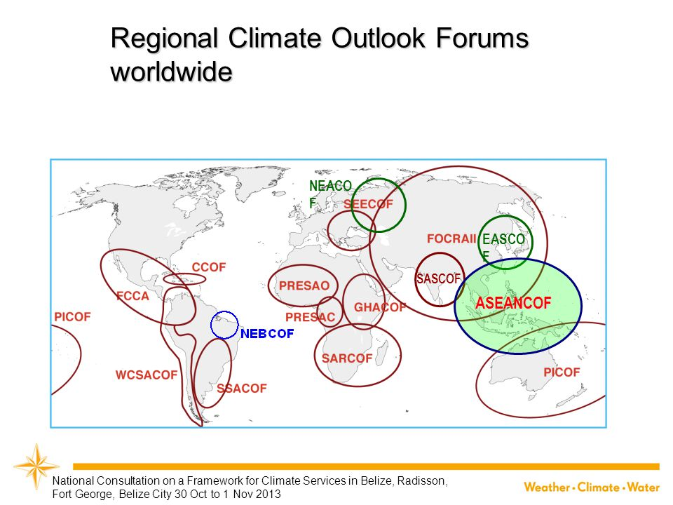 Regional Climate Outlook Forums worldwide